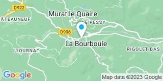 Plan Carte Hervé Couraud et David Dupic à La Bourboule