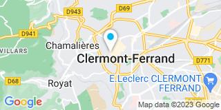 Plan Carte Richard Gagner et François Meurillon à Clermont-Ferrand