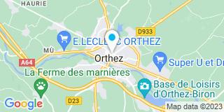 Plan Carte Dupont Jean à Orthez