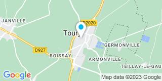 Plan Carte Chloé Wissocq à Toury