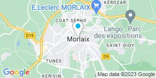 Plan Carte Charles-Emmanuel Appriou à Morlaix