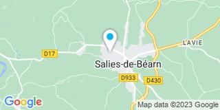 Plan Carte Jean-Michel Saint-Macary et Georges Pontoizeau à Salies-de-Béarn