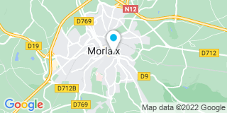 Plan Carte Alain Coeff à Morlaix