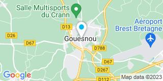 Plan Carte Caroline Fallon-Piriou à Gouesnou