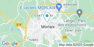 Plan Carte Jérôme Nicolas à Morlaix