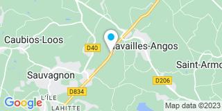 Plan Carte Darricarrere Georges à Navailles-Angos