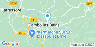 Plan Carte Iban de Rezola à Cambo-les-Bains