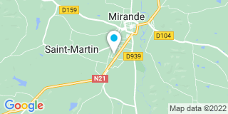 Plan Carte Société D'équipements Thermiques et de Réalisations Industrielles (SODRETRI) à  Saint George les Baillargeau