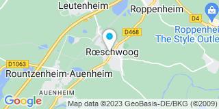 Plan Carte Patrick Metz à Roeschwoog