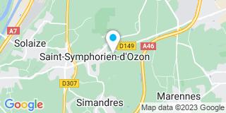 Plan Carte Skl à Saint-Symphorien-d'Ozon