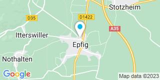 Plan Carte Walter Philippe à Epfig