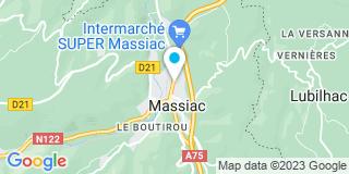 Plan Carte Claire Astorgue-Marlin à Massiac