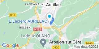 Plan Carte Claude Berthomieux à Aurillac