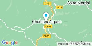 Plan Carte Sophie Sérandon à Chaudes-Aigues