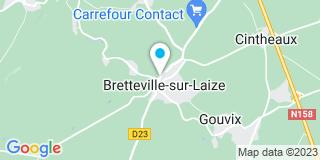 Plan Carte Engelhard Thibault à Bretteville-sur-Laize