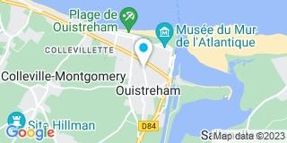 Plan Carte Christophe Coquelin à Ouistreham