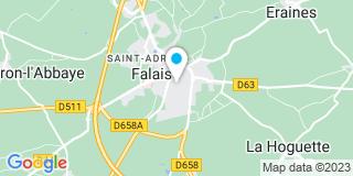 Plan Carte Jean-Luc Gaullier à Falaise