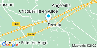 Plan Carte Paul Kzchichian à Dozulé