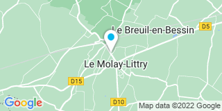 Plan Carte Philippe Dargorn à Le Molay-Littry