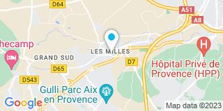 Plan Carte Isabelle Balique-Casterez à Aix-en-Provence