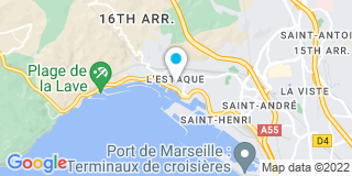 Plan Carte Philippe Ducord à Marseille