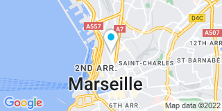 Plan Carte Galidie David à Marseille