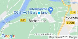 Plan Carte Pierre Jean à Barbentane