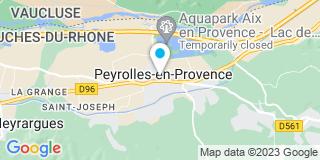 Plan Carte André Lassia à Peyrolles-en-Provence