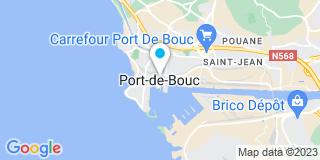 Plan Carte Ariel Perdiguero à Port-de-Bouc