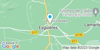 Plan Carte Benoit Codaccioni à Eyguières