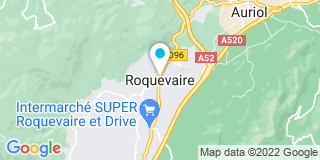 Plan Carte Hubert Devictor à Roquevaire