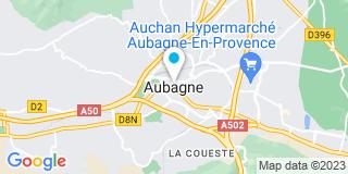 Plan Carte Jean  Coulomb à Aubagne