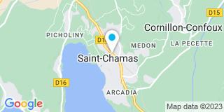Plan Carte Jean Nicolas à Saint-Chamas