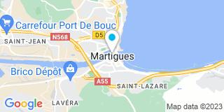 Plan Carte Philippe Bessone à Chateauneuf-les-Martigues