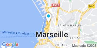 Plan Carte Pierre Charriaud à Marseille