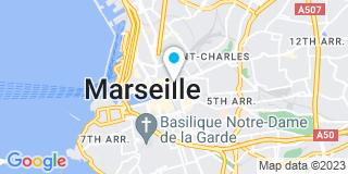 Plan Carte Vincent Tramier-Mouren  à Marseille