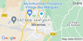Plan Carte Florence Xiberras à Miramas