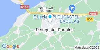 Plan Carte Pascal Coat, Marianne Toutous-Durand et Cynthia Deforge à Plougastel-Daoulas