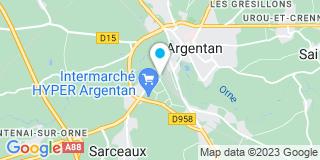 Plan Carte Etandin Sarl à Argentan