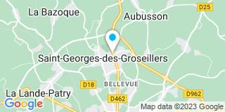 Plan Carte Société Quenechdu à St Georges Des Groseillers