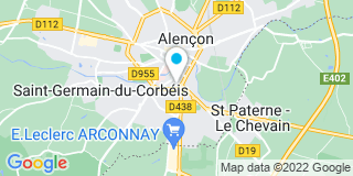 Plan Carte Pascal Gagneux à Alençon