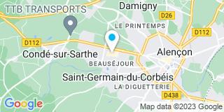 Plan Carte Daugear Daniel à Conde-sur-Sarthe