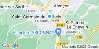 Plan Carte Lessinger Menuiserie à Saint-Germain-du-Corbéis