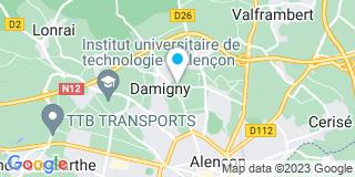 Plan Carte Mailhes Pottier Sarl à Damigny