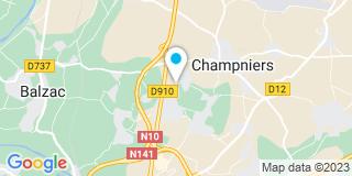 Plan Carte Menuiserie Vergnaud à Champniers