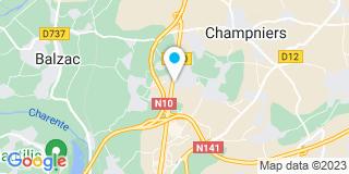 Plan Carte Menuiserie 2000 à Champniers