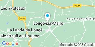 Plan Carte Le Monnier Jean-Yves Gilles à Lougé-sur-Maire