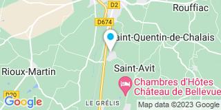 Plan Carte Tugal Franck à Saint-Avit