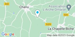 Plan Carte Busnot Jacques à Chanu
