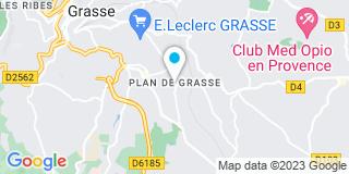 Plan Carte Point P au Plan-de-Grasse
